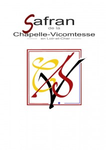 cartouche du Safran de la Chapelle Vicomtesse